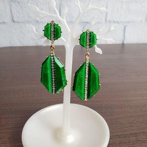 Amrita Singh - Evergreen Drop Earrings